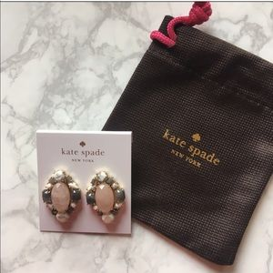 Kate Spade Blush Earrings